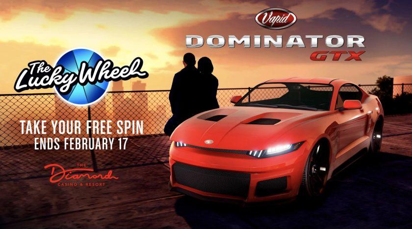 Vapid Dominator GTX Podium Diamond Casino & Resort