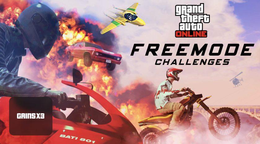 Gains X2 pour le mode libre dans GTA Online