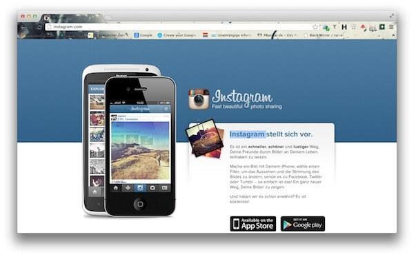 Instagram - webrocks.de