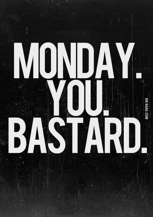 Das funktioniert heute einfach nicht - der Montag ist scheisse - rockster.tv