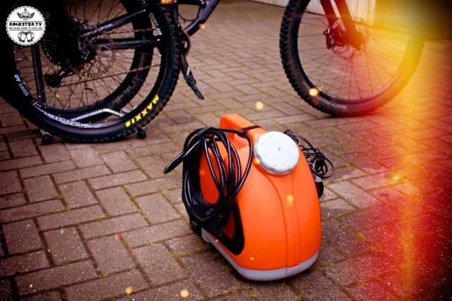Der Red Cycling Druckreiniger