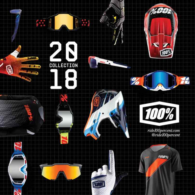 100% Launches 2018 Product Line and New Website
