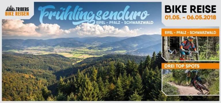 DIE EIFEL, PFALZ UND DEN SCHWARZWALD - Triberg Bike Reisen