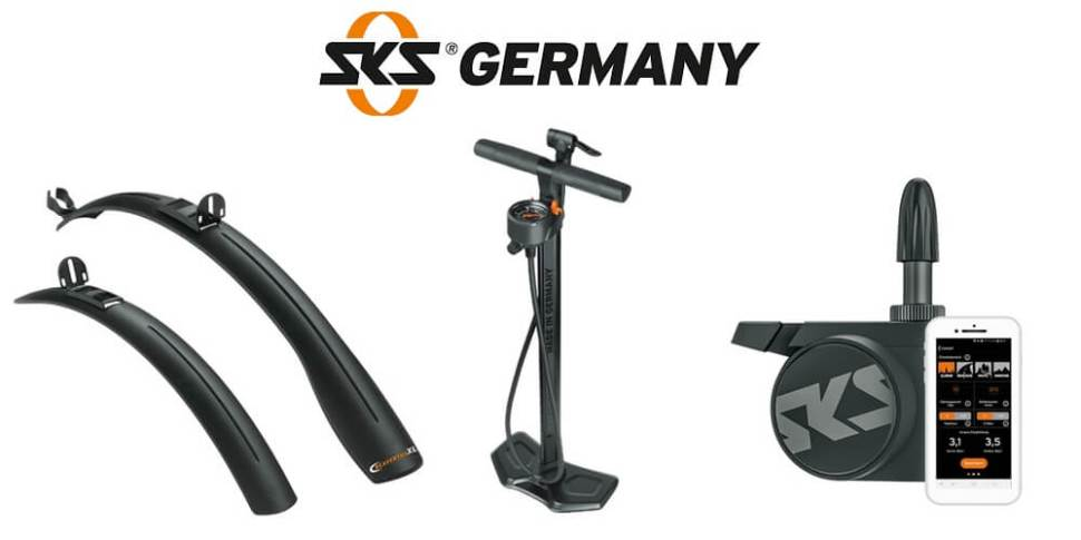 Happy Birthday SKS Germany! - Partner - Schutzblech, Pumpe, Luftdrucksensor