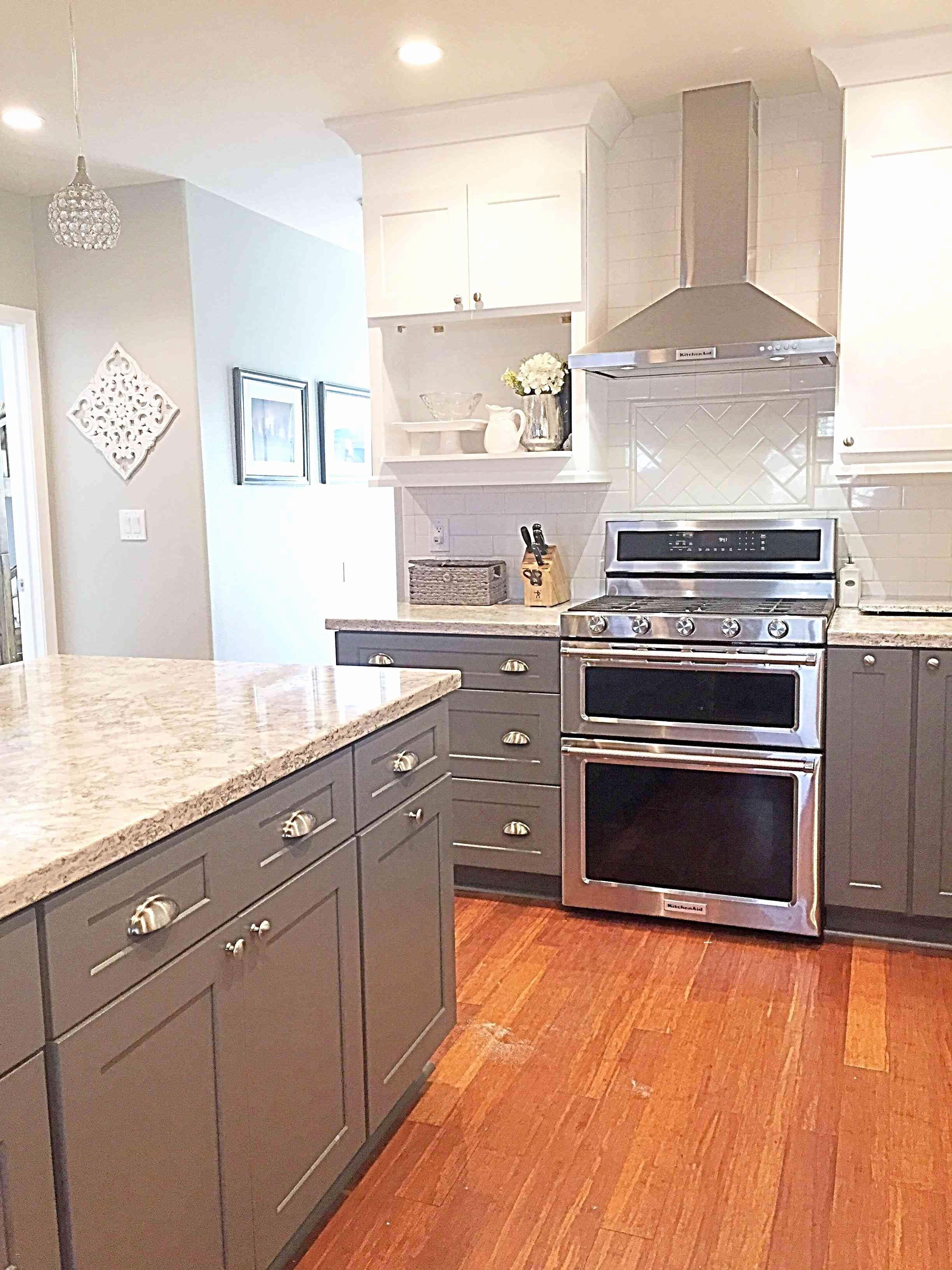 13 Amazing Dark Hardwood Floors with Maple Cabinets ... on Dark Maple Cabinets  id=35691