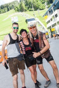 21.06.2018,Schladming, AUT, Rock the Roof, Harley Davidson Treffen, Figaro Pictures © 2018, PhotoCredit: Figaro / Markus Casna
