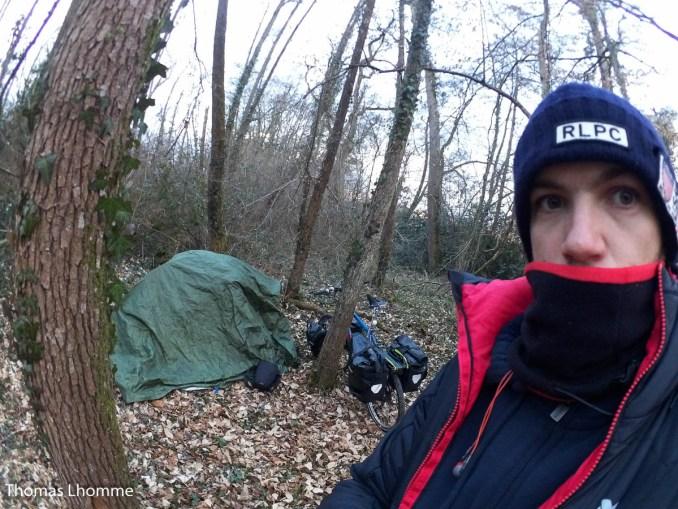 Seconde nuit sous tente en hiver