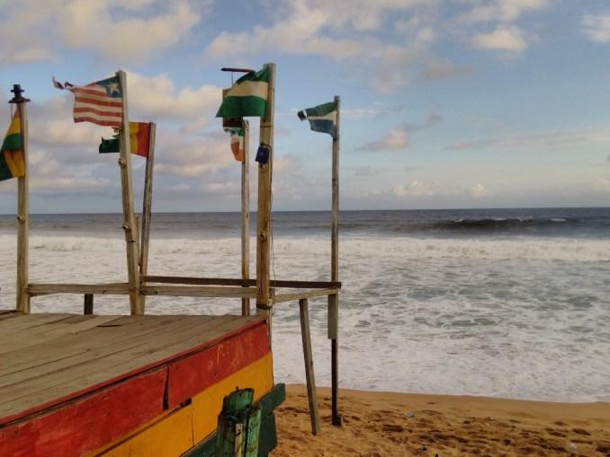 Rasta beach. copyright Matt Von Boecklin.