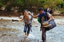 Traversé de la rivière