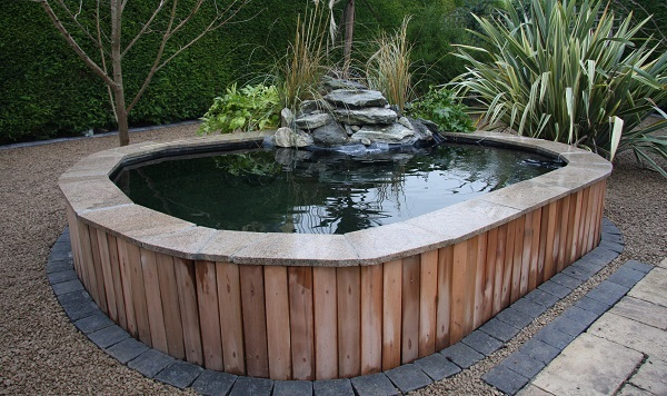 Above Ground Garden Water Features