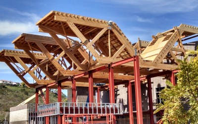 Architectural Trusses Touch Down