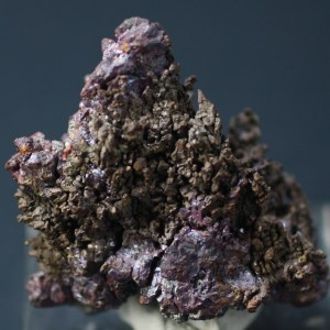 Cuprite on native Copper, Bisbee, Cochise County, Arizona (BLM-19)