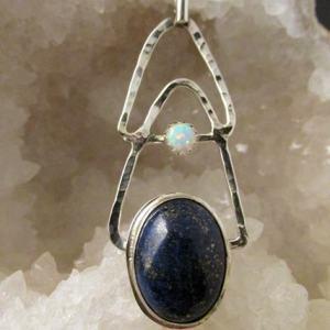 JS-58 Lapis Opal Pendant