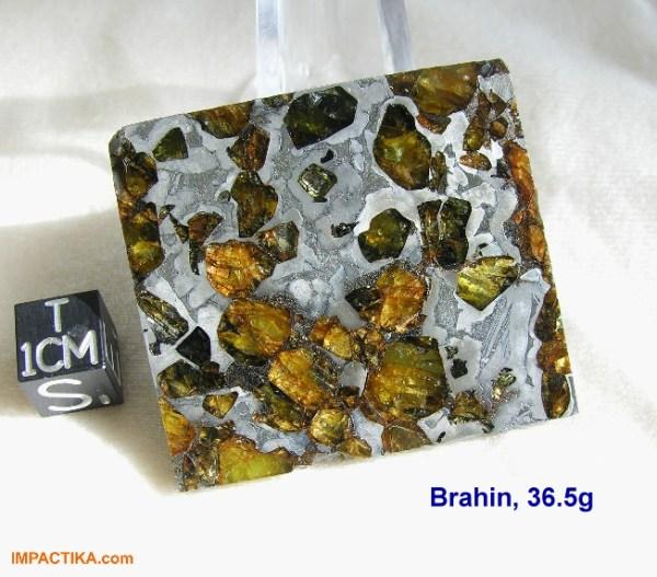 brahin pallasite stony-iron meteorite