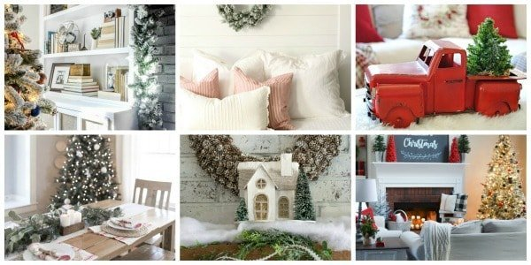 Christmas Home Tours - Tuesday Participants