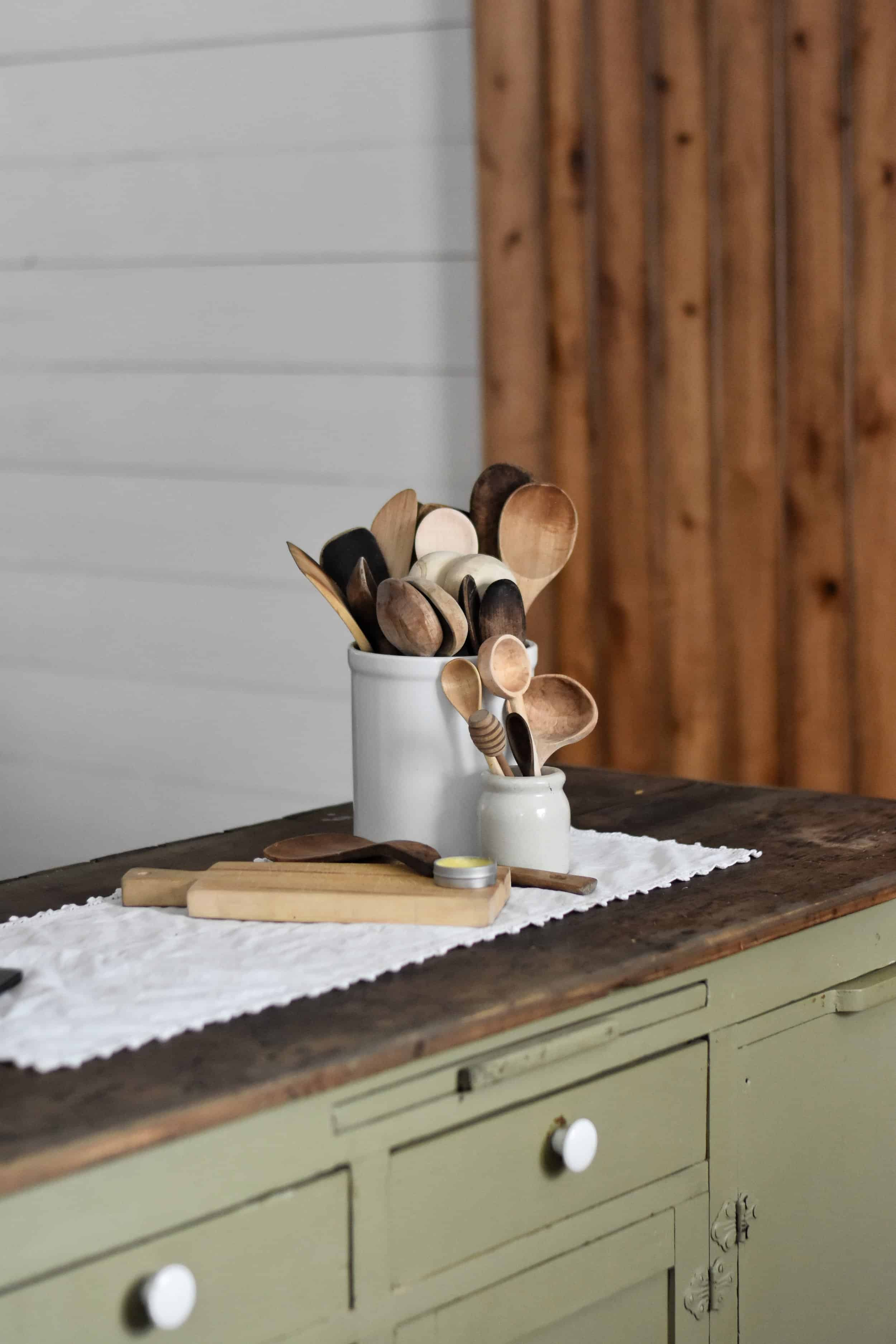 Caring for Wooden Utensils