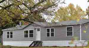 Mobile Home Farmhouse Exterior Remodel Rocky Hedge Farm