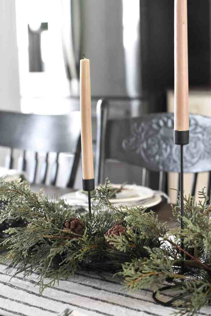 Rustic Black Farmhouse Canldes