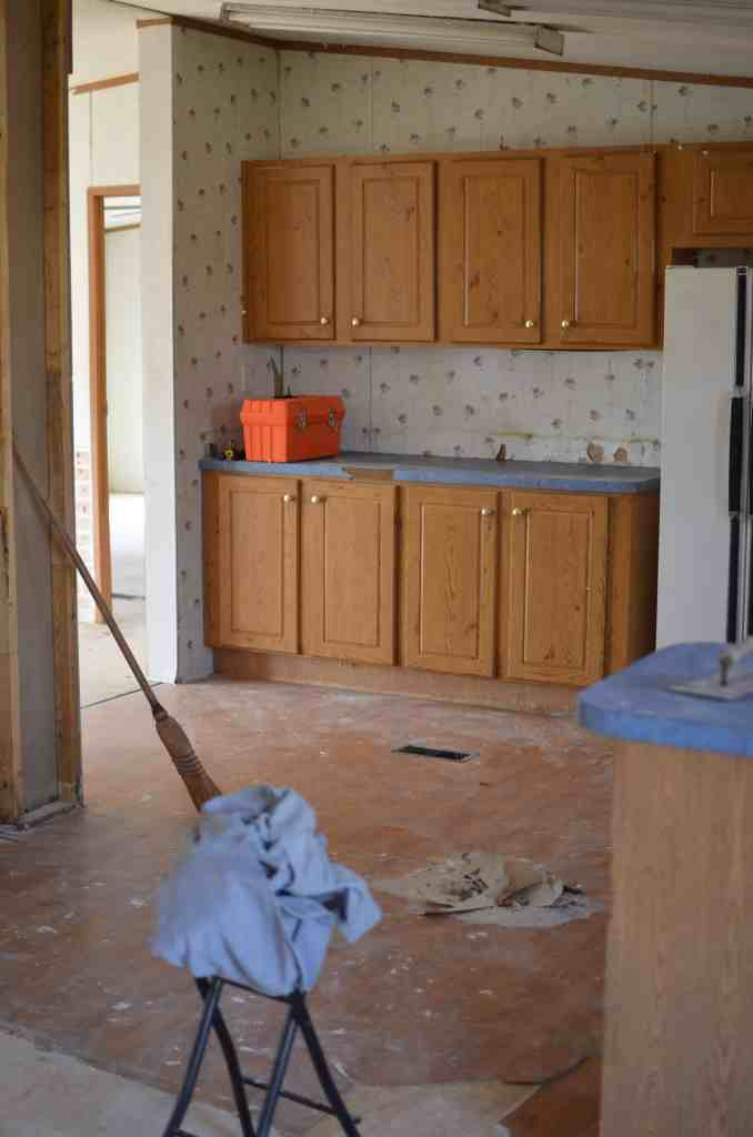 Mobile Home Kitchen Renovation Ideas and Plan