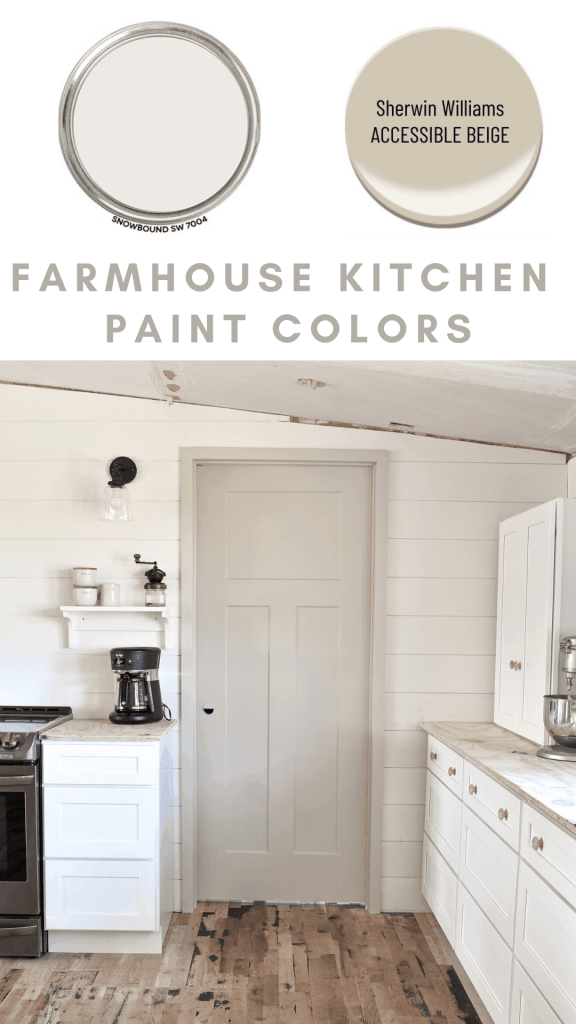 Shaker Kitchen Style Farmhouse Paint Colors