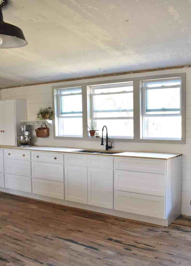 Double Wide Farmhouse Shaker Style Kitchen