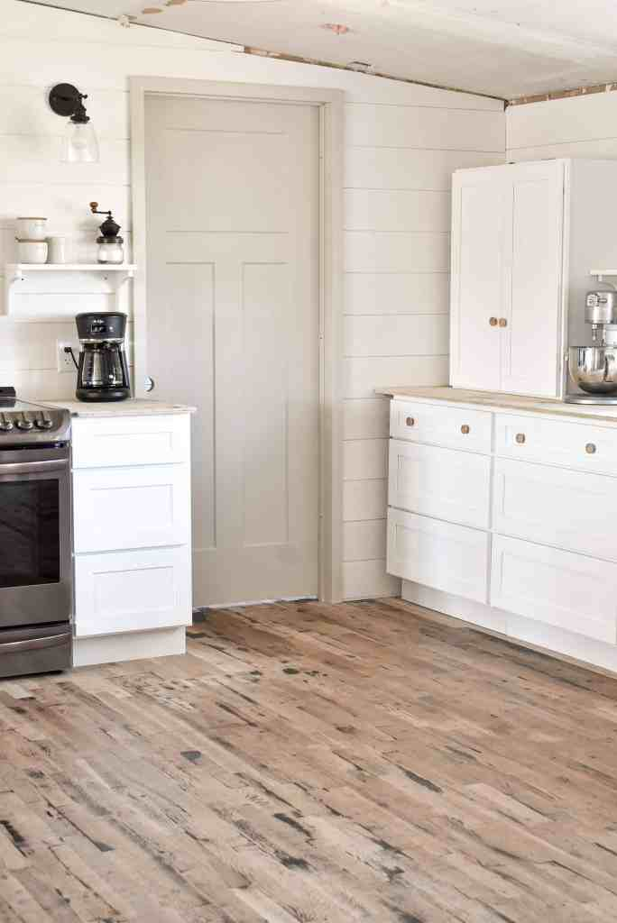 DIY Shaker Style Farmhouse Kitchen Cabinets