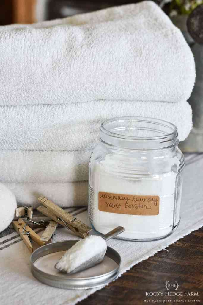 DIY Laundry Scent Booster