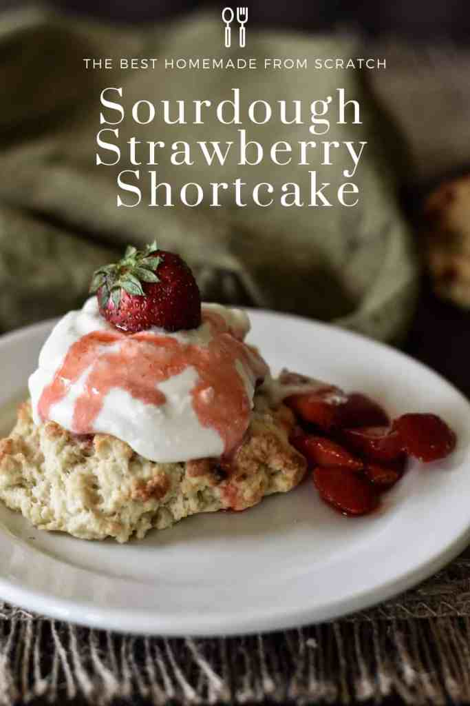 Sourdough Strawberry Shortcake