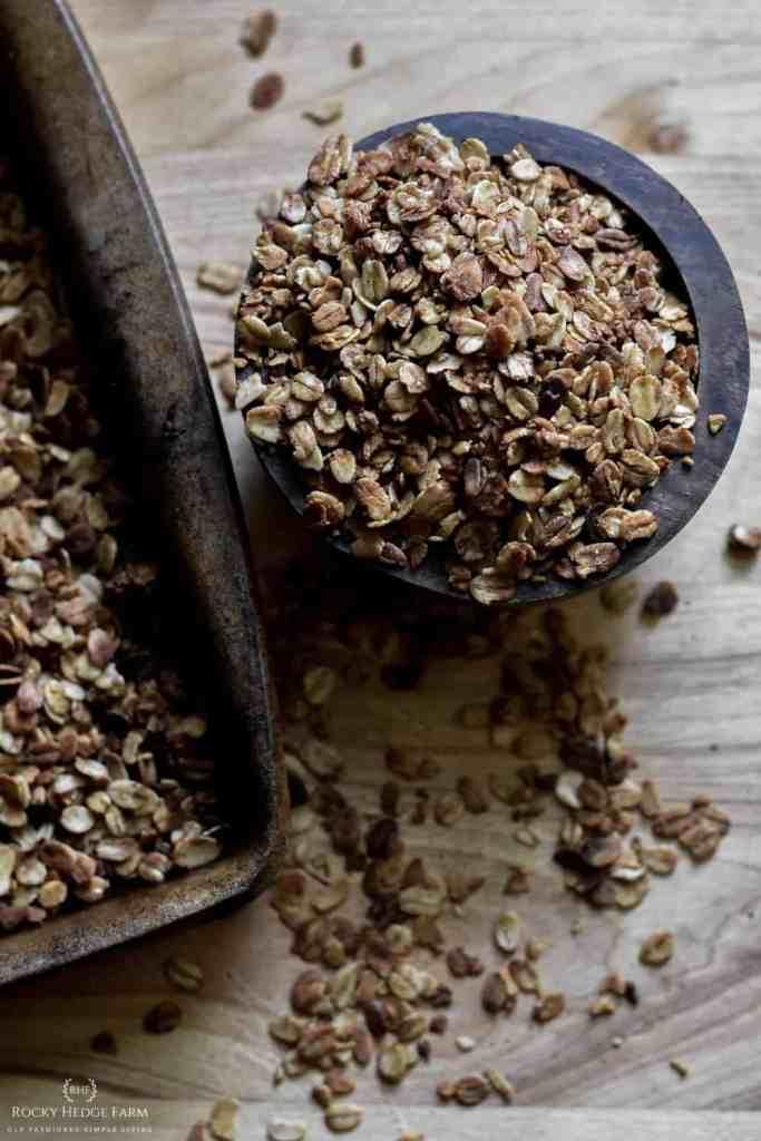 No Nuts Pumpkin Granola Recipe