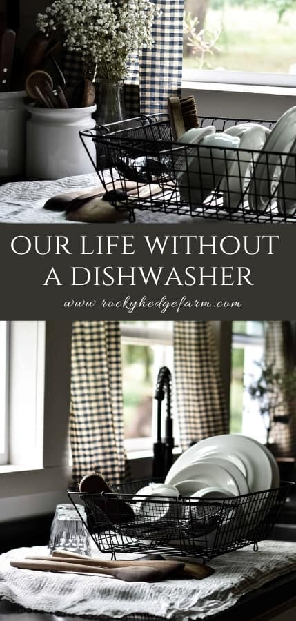 Our Life Without a Dishwasher