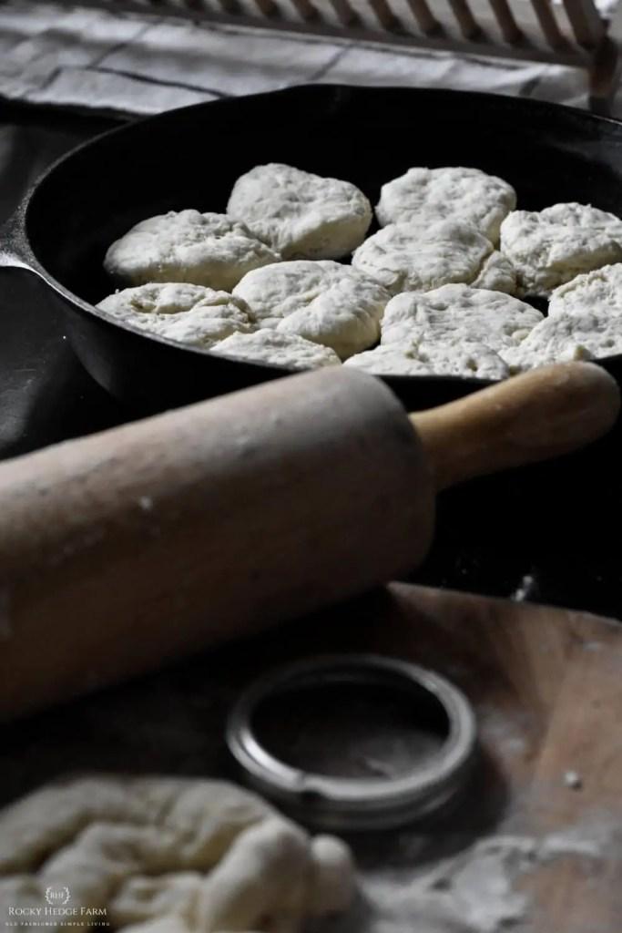 Sourdough Biscuit Cast Iron