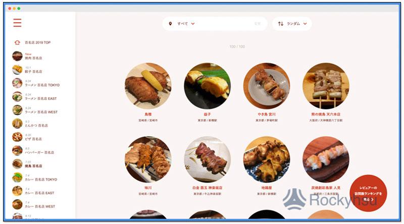日本票選百名店 2019 燒肉、拉麵、串燒、餃子等餐廳百大排行榜 4