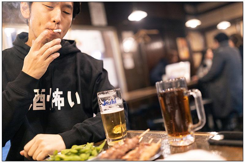 日本居酒屋可吸煙