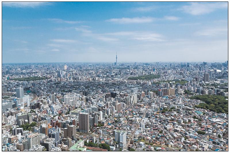 東京晴空塔市景