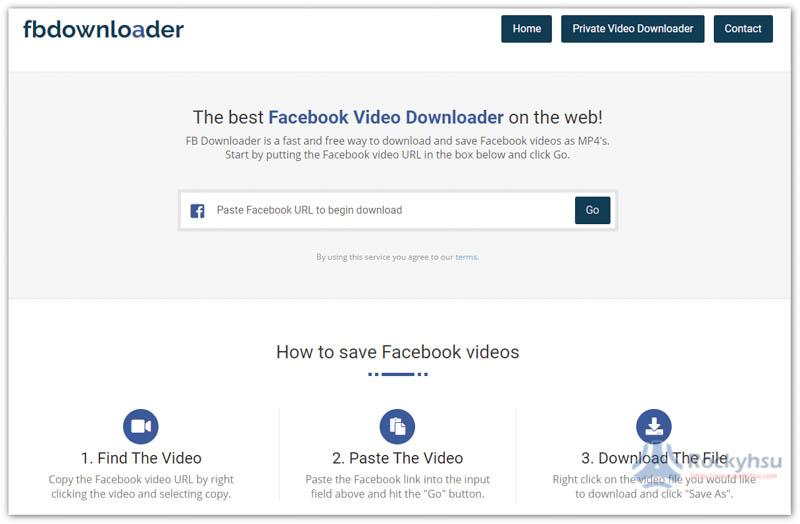 fbdownloader Facebook 影片下載