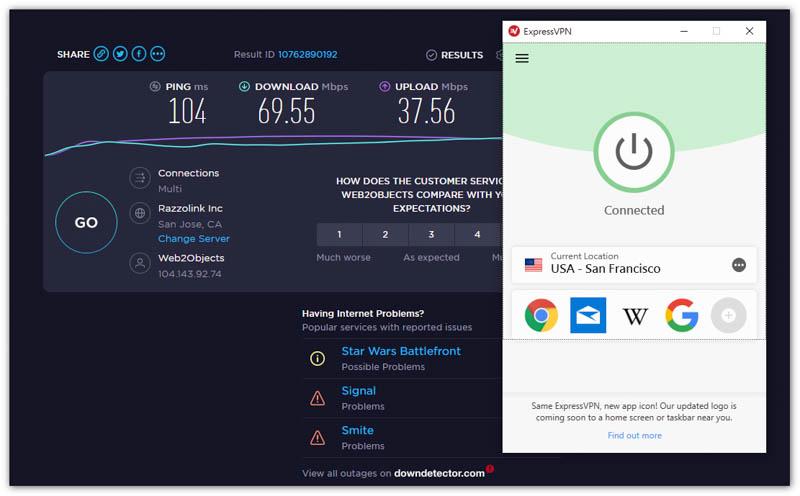 ExpressVPN 美國伺服器