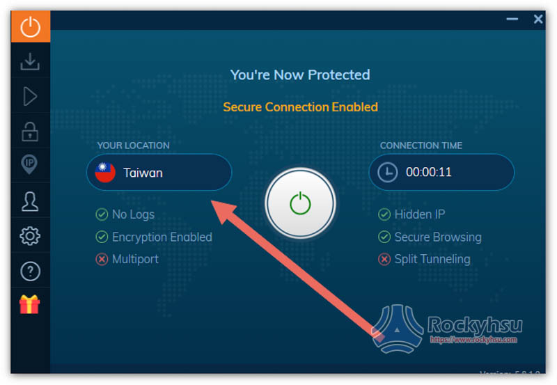 Ivacy 台灣伺服器