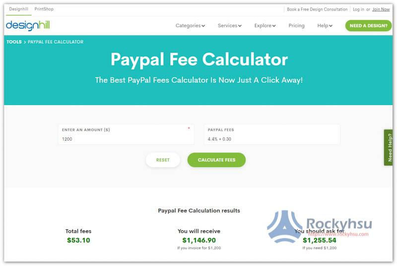 designhill PayPal