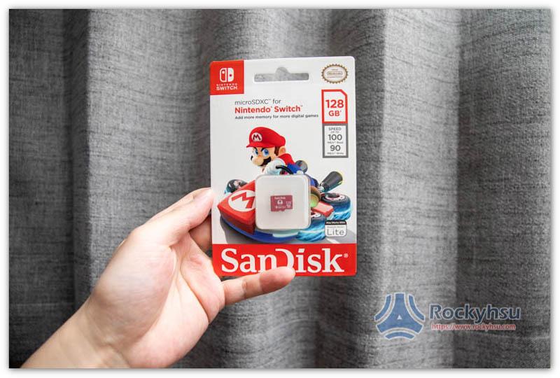 SanDisk Nintendo Switch 記憶卡