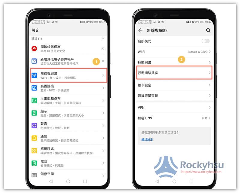 Android 熱點分享
