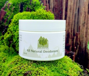 Best All Natural Deodorant by Rocky Mountain Botanicals