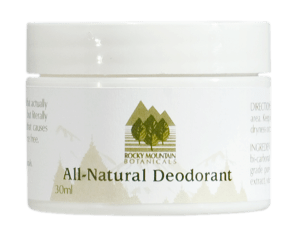 All Natural Deodorant by Rocky Mountain Botanicals