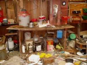 Improperly Stored Farm Chemicals