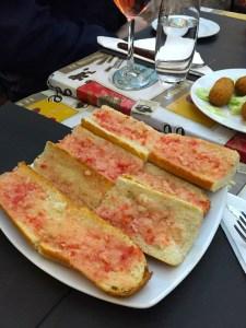 International Food Tour - Barcelona - Pan Con Tomate