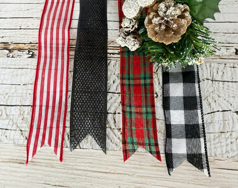 Cozy Gift Co. Premium Christmas Ribbon Options