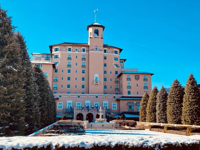 Historic Broadmoor Hotel in Colorado Springs, CO