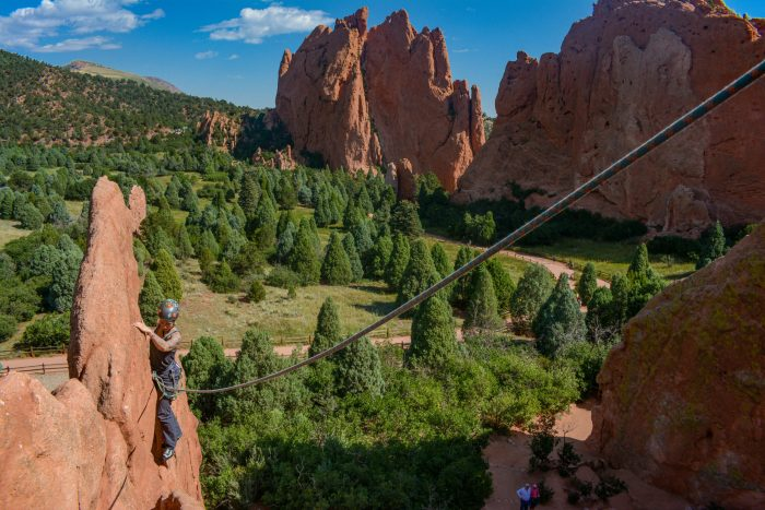 Garden of the Gods Rock Climbing