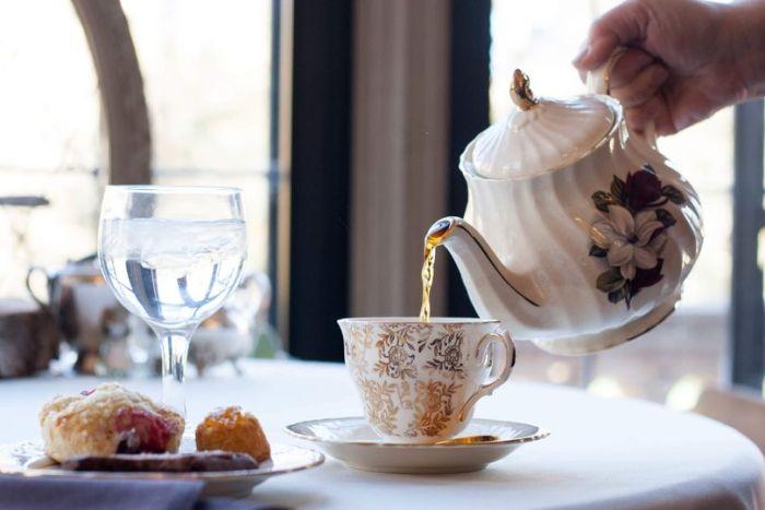 Tea at Glen Eryie Castle