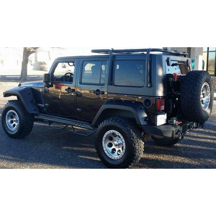 jeep wrangler jk with suspension lift kit