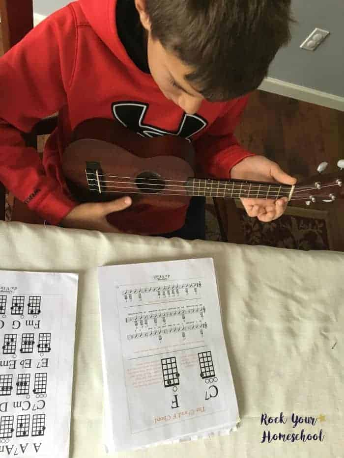 Learn With Your Kids Ukulele Fun For All Rock Your Homeschool